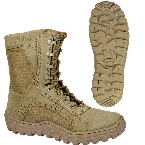 U.S. Army Rocky Boots S2V Vented Boots - Male Size 7 M
