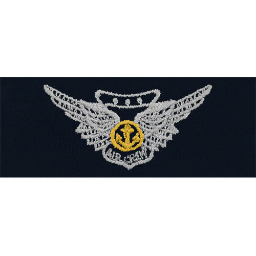 Navy and Marine Corps Combat Aircrew Embroidered Coverall Breast Insignia