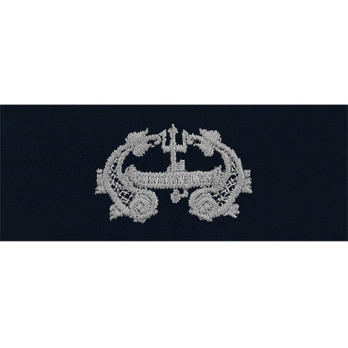 Navy Deep Submergence Embroidered Coverall Breast Insignia