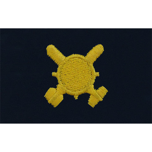 Navy Explosive Ordnance Disposal Embroidered Coverall Collar Device
