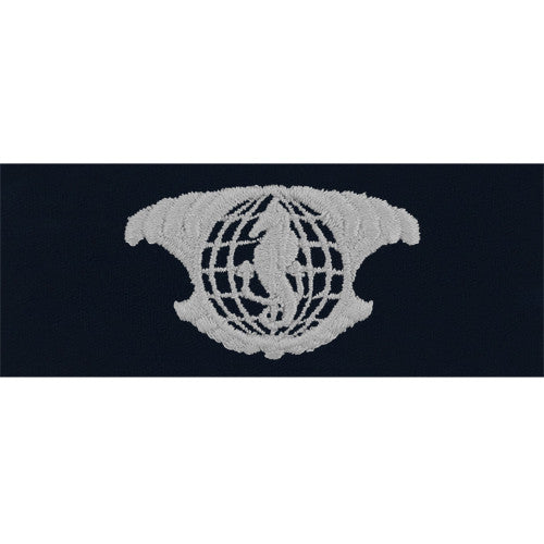 Navy Integrated Undersea Surveillance Embroidered Coverall Breast Insignia - Enlisted