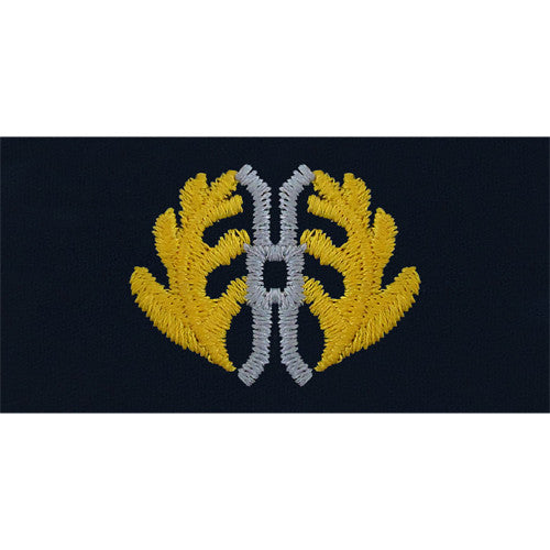 Navy Judge Advocate Embroidered Coverall Collar Device
