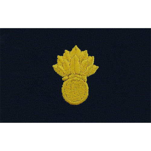 Navy Ordnance Technician Embroidered Coverall Collar Device