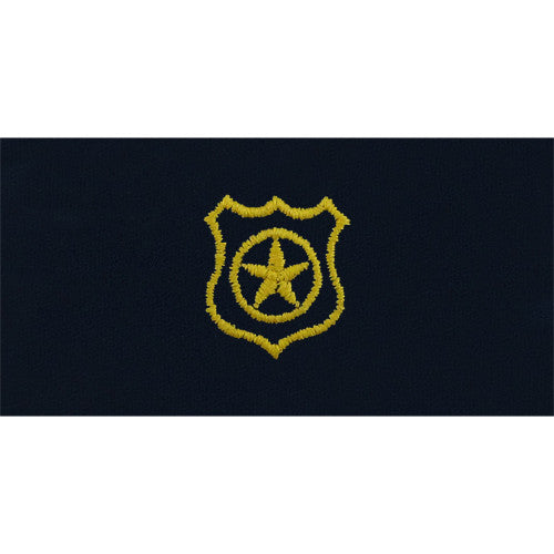 Navy Master-at-Arms Embroidered Coverall Collar Device