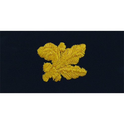 Navy Supply Corps Embroidered Coverall Collar Device