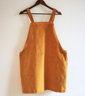 Organic Dungaree Dress