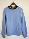 Unisex Organic Cotton Sweatshirt // Light Blue Plain