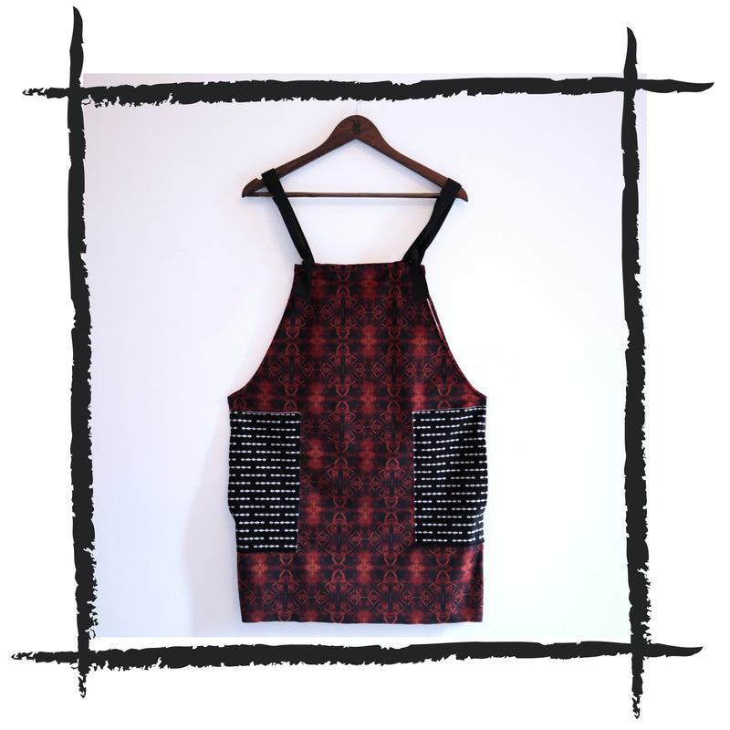 Patchwork Dungaree Dress // 0.2