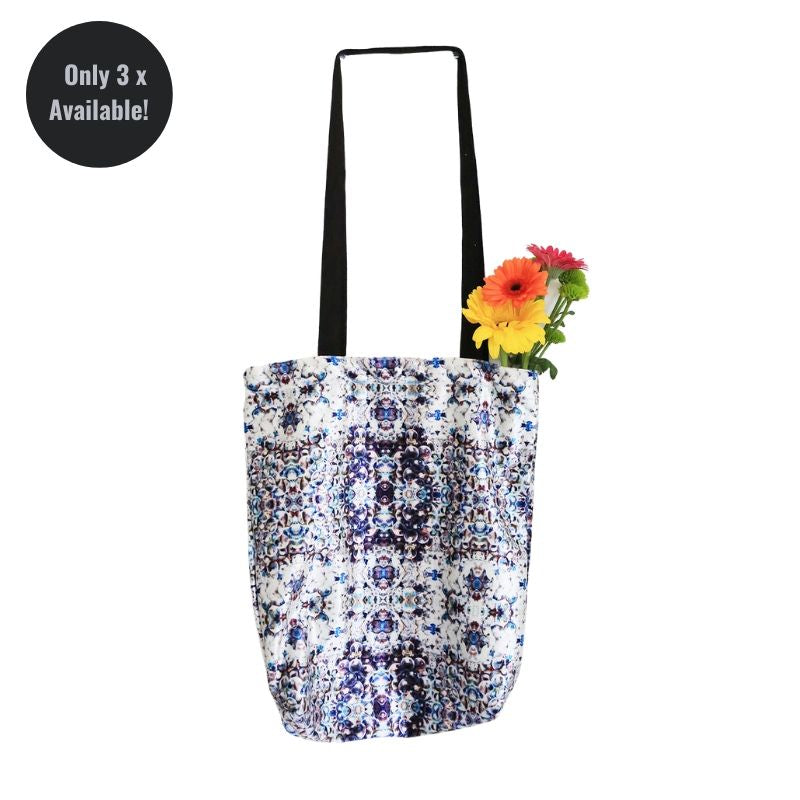 Zero-Waste Purple print shopper