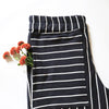 Organic Cotton Striped Joggers