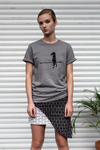 Unisex Organic Cotton Walk The Line Tee