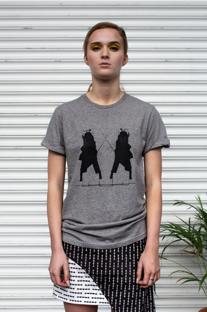 Unisex Organic Cotton Woman Warrior Tee