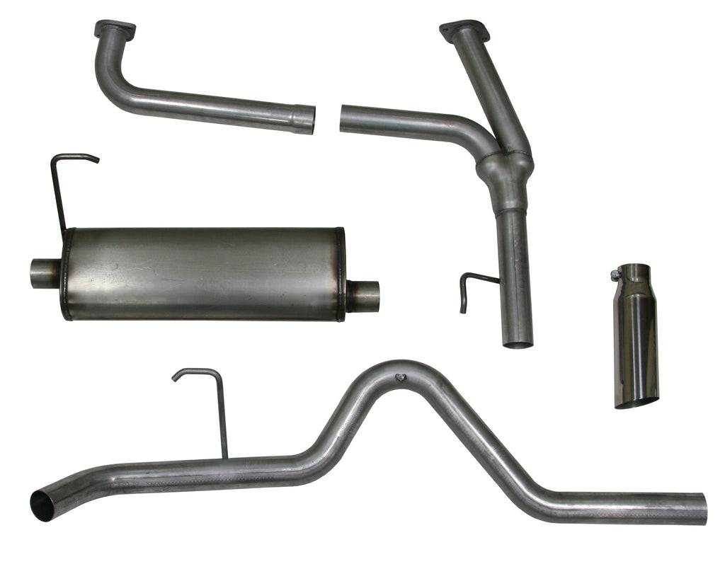 Cat-back Exhaust System, 2005-16 Nissan Frontier, 4.0L