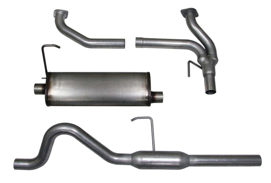 Cat-back Exhaust System, 2005-16 Nissan Xterra, 4.0L