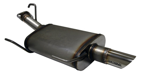 Axle-back Exhaust System, 2011-14 Nissan Juke, 1.6L (FWD only)