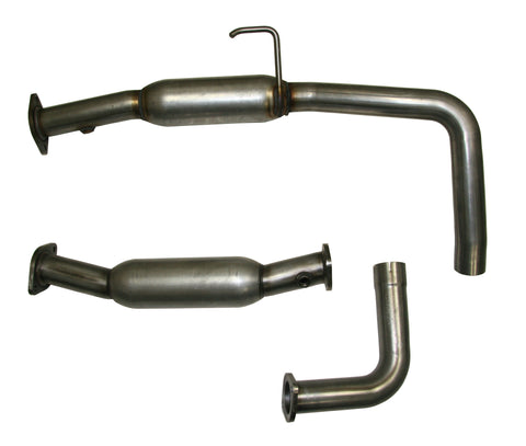 Performance Mid-Pipes w/ Resonators, 2010-16 Toyota Tundra, 5.7L