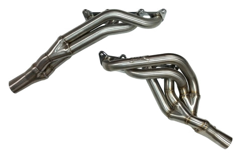 Long Tube Tri-Y Headers w/ X-pipe Connector Pipes, 2011-14 Ford Mustang, 5.0L