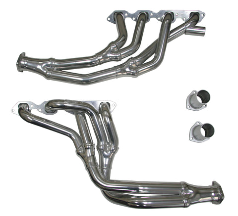Long Tube Tri-Y Headers, 1973-91 Chevrolet GMC Pickup Truck / SUV (4WD only), 366-454 Big Block