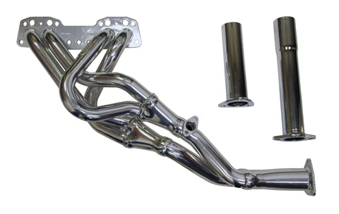 Tri-Y Header, 1985-95 Toyota Truck / 4Runner, 22R-E (side feed air injection, O2 sensor in manifold)