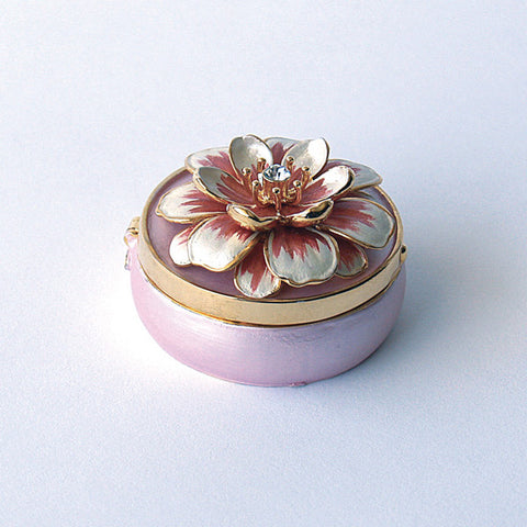 Lily Lilly Flower Box Swarovski Crystals Jewelry, Trinket, Pill Box ...