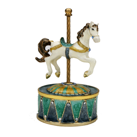 Single Horse Music Box