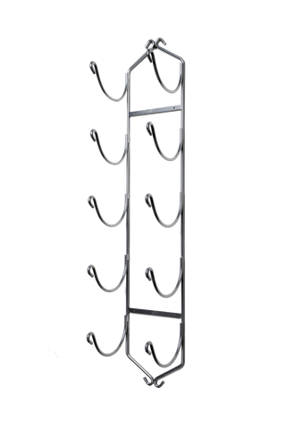 XL Chrome Wall Mounted Towel Rack