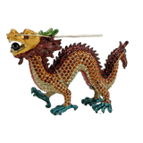 Chinese Dragon Figurine Box