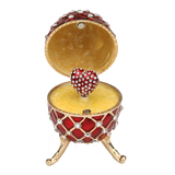 Loving Faberge Egg Music Box