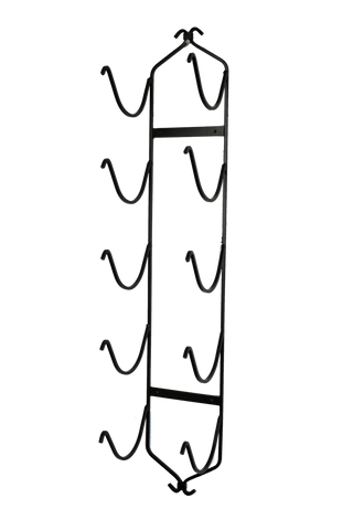 XL Bronze Wall Mounted Towel Rack
