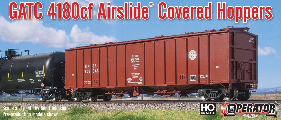 Operator 4180cf Airslide® Covered Hopper