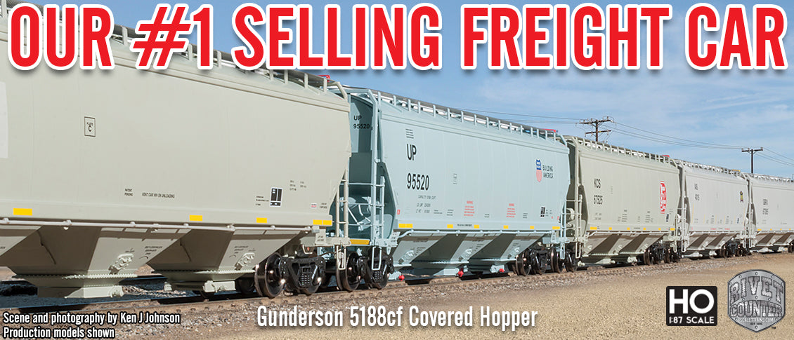 Rivet Counter Gunderson 5188cf Covered Hopper