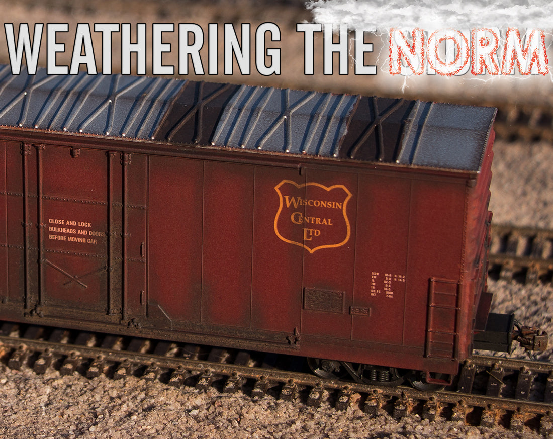 Weathering a ScaleTrains.com Evans Boxcar by Jonathon Hill