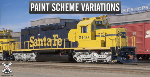 Rivet Counter HO Scale EMD SD40-2, Santa Fe
