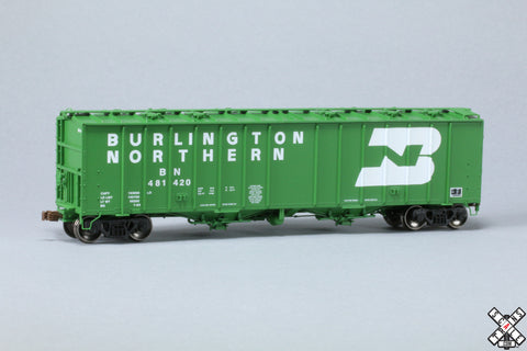 HO GATC 4180cf Airslide® Covered Hopper, Burlington Northern/Large Logo