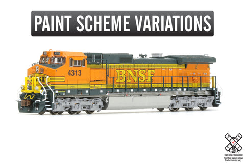 Rivet Counter N Scale GE DASH 9-40CW Diesel Locomotive by ScaleTrains.com