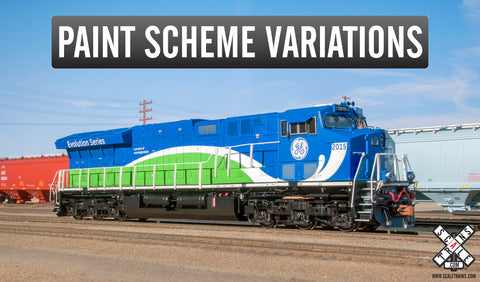 Rivet Counter HO Scale GE Tier 4 GEVo, GECX Pre-Production/Field Test Demonstrator ET44AC