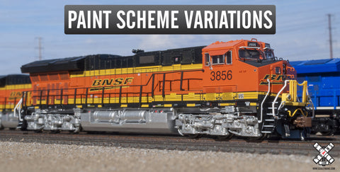 Rivet Counter N Scale BNSF 4 GEVo ET44C4 Diesel Locomotive by ScaleTrains.com