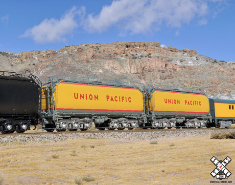 Rivet Counter N Scale Union Pacific Steam Excursion Pre-2006 Water Tender Set