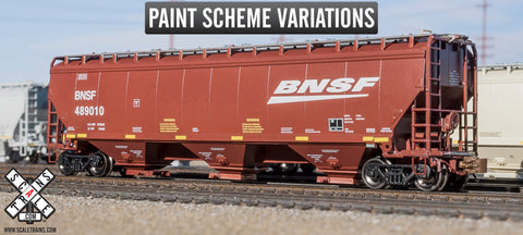 Rivet Counter N Scale Gunderson 5188cf Covered Hopper, BNSF