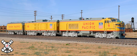 "Rivet Counter N Scale Union Pacific GTEL 8500 HP ""Big Blow"" Super Turbine by ScaleTrains.com"