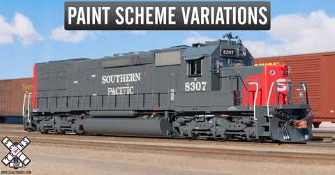 "Rivet Counter HO Scale EMD SD40T-2 ""Tunnel Motor"" Diesel Locomotive by ScaleTrains.com"