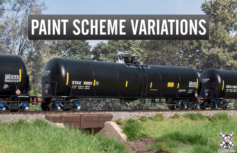 Rivet Counter HO Scale Trinity 31K Crude Oil Tank Car by ScaleTrains.com