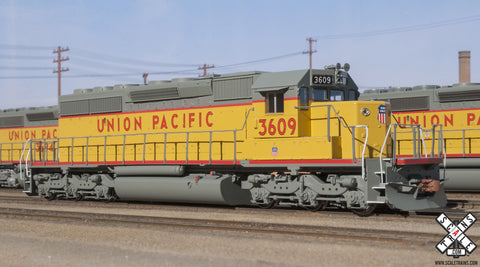 Operator HO Scale EMD SD40-2, Union Pacific