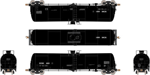 TEST: HO TrinityRail 31K Crude Oil Tank Car, SCMX