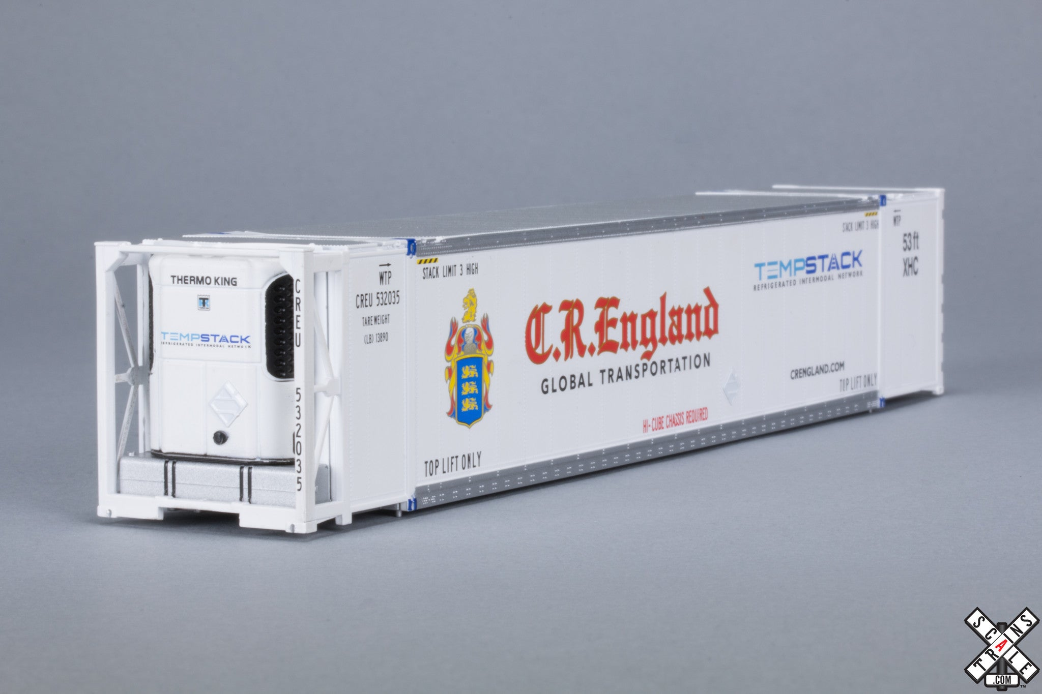 HO CIMC 53' Reefer Container With Sound, CR England