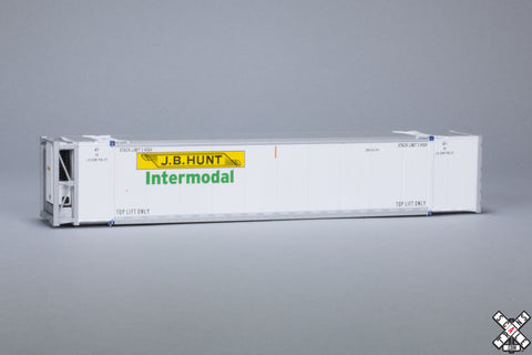HO CIMC 53' Reefer Container 3-Pack, JB Hunt/Intermodal