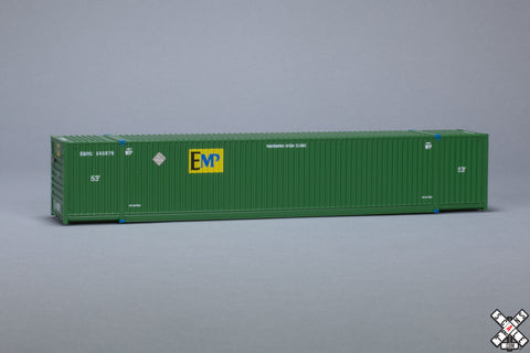HO CIMC 53' Corrugated Dry Container, EMP