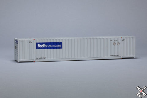 HO CIMC 53' Corrugated Dry Container, FedEx