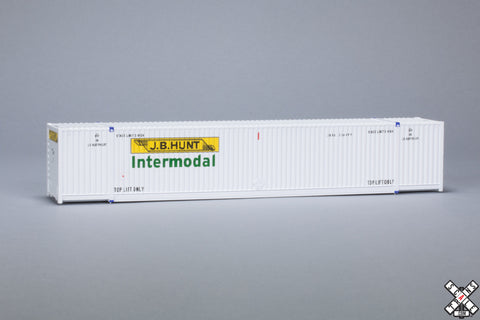 HO CIMC 53' Corrugated Dry Container 3-Pack, JB Hunt/Intermodal