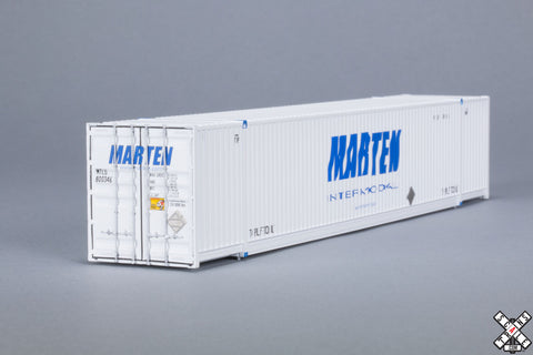 HO CIMC 53' Corrugated Dry Container, Marten